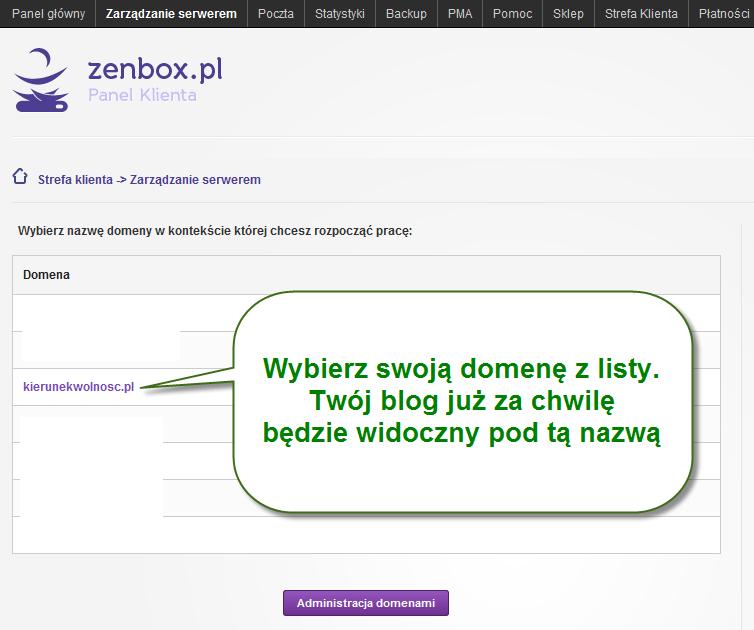zenbox domeny
