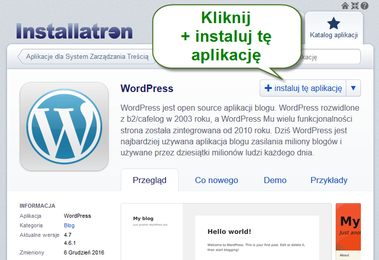 zenbox instalator wordpress