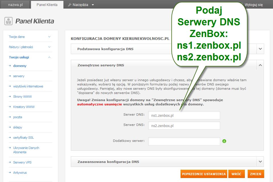 zenbox dns