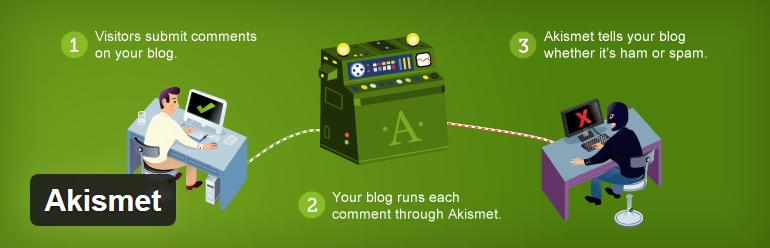 Aksimet - 12 najlepszych wtyczek WordPress