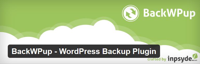 BackWPup - 12 najlepszych wtyczek WordPress