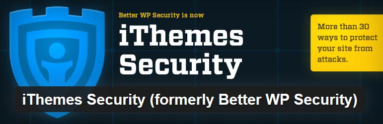 iThemes Security - 12 najlepszych wtyczek WordPress